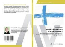 Buchcover von Finnisch-deutsche Vornamenswahl