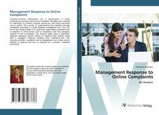 Bookcover of Management Response to Online Complaints