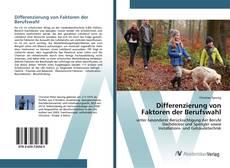 Couverture de Differenzierung von Faktoren der Berufswahl