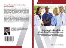 Portada del libro de Interprofessionalität in deutschen Krankenhäusern