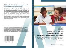 Capa do livro de Frühenglisch in der Primarschule und leistungsschwache Lernende