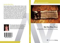 Bookcover of Der Ku Klux Klan