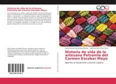 Portada del libro de Historia de vida de la artesana Petronila del Carmen Escobar Mayo