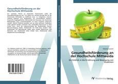 Portada del libro de Gesundheitsförderung an der Hochschule Mittweida