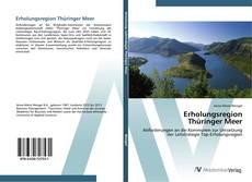 Erholungsregion Thüringer Meer的封面