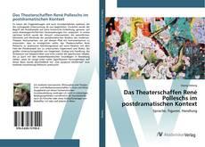 Das Theaterschaffen René Polleschs im postdramatischen Kontext的封面