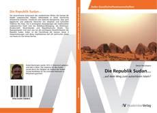 Bookcover of Die Republik Sudan...