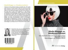 Mode-Blogger vs. Modejournalisten的封面