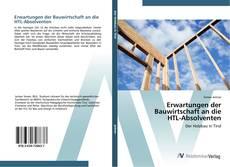 Buchcover von Erwartungen der Bauwirtschaft an die HTL-Absolventen