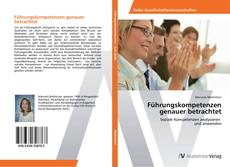 Portada del libro de Führungskompetenzen genauer betrachtet