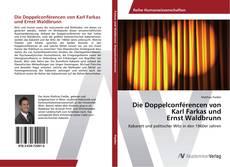 Обложка Die Doppelconférencen von Karl Farkas und Ernst Waldbrunn