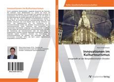 Buchcover von Innovationen im Kulturtourismus