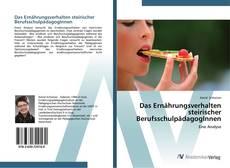 Capa do livro de Das Ernährungsverhalten steirischer BerufsschulpädagogInnen