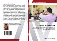 Buchcover von Burnout im Lehrberuf
