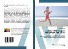 Bookcover of Ausdauertraining zur Prävention von Stress
