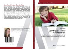 Bookcover of Lernfreude in der Grundschule