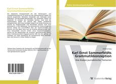 Portada del libro de Karl Ernst Sommerfeldts Grammatikkonzeption