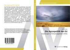 Die Agrarpolitik der EU kitap kapağı