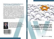 Couverture de Optimierung von Produktperformance in der Investitionsgüterindustrie