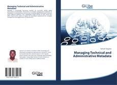 Обложка Managing Technical and Administrative Metadata