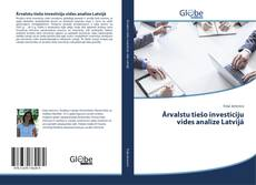 Ārvalstu tiešo investīciju vides analīze Latvijā kitap kapağı