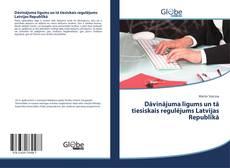 Dāvinājuma līgums un tā tiesiskais regulējums Latvijas Republikā kitap kapağı