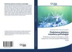 Bookcover of Piedošanas jēdziens mūsdienu psiholoģijā