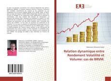 Relation dynamique entre Rendement Volatilité et Volume: cas de BRVM.的封面