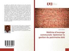 Borítókép a  Maîtrise d'ouvrage communale: Optimiser la gestion du patrimoine bâti - hoz