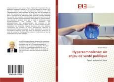 Bookcover of Hypersomnolence: un enjeu de santé publique