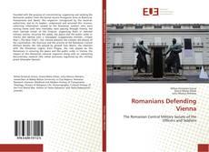Portada del libro de Romanians Defending Vienna