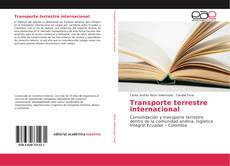 Bookcover of Transporte terrestre internacional