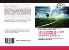 Portada del libro de Conocimientos de la lepra en estudiantes de Enfermería y Medicina