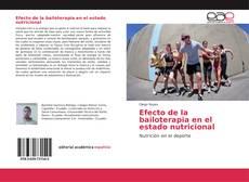 Copertina di Efecto de la bailoterapia en el estado nutricional