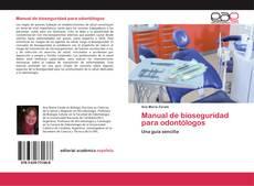 Portada del libro de Manual de bioseguridad para odontólogos