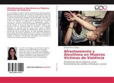 Afrontamiento y Alexitimia en Mujeres Víctimas de Violencia kitap kapağı