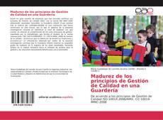 Buchcover von Madurez de los principios de Gestión de Calidad en una Guardería
