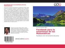 Capa do livro de Facebook para la enseñanza de las Matemáticas