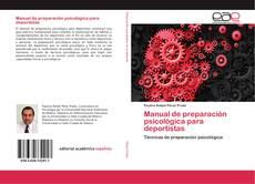 Couverture de Manual de preparación psicológica para deportistas