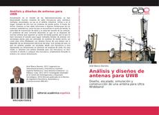 Portada del libro de Análisis y diseños de antenas para UWB