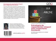 Estrategia de capacitación integral para inspectores escolares的封面