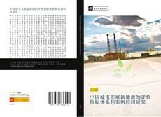 中国城市发展新能源的评价指标体系和案例应用研究 kitap kapağı