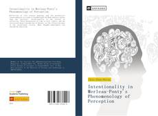Bookcover of Intentionality in Merleau-Ponty's Phenomenology of Perception
