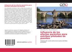 Capa do livro de Influencia de los efectos parásitos para estribos pilotados de puentes