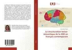 Capa do livro de La structuration lexico-sémantique de la JOIE en français contemporain