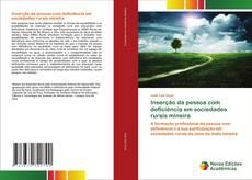 Copertina di Inserção da pessoa com deficiência em sociedades rurais mineira