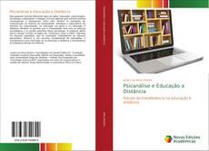 Capa do livro de Psicanálise e Educação a Distância