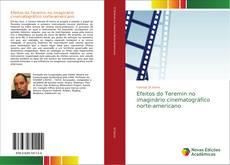 Capa do livro de Efeitos do Teremin no imaginário cinematográfico norte-americano