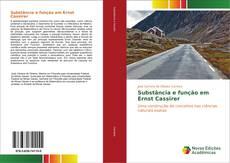 Capa do livro de Substância e função em Ernst Cassirer