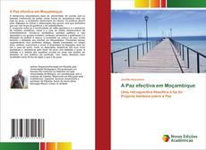 Portada del libro de A Paz efectiva em Moçambique